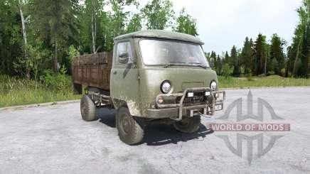 УАЗ 452Д и УАЗ 3303 для MudRunner