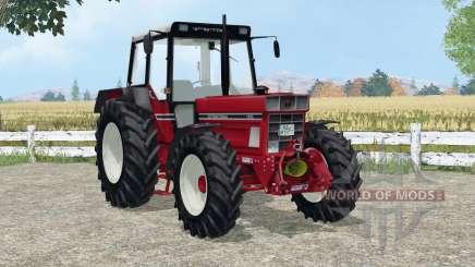 International 1455 A added wheels для Farming Simulator 2015