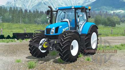 New Holland Ŧ6.160 для Farming Simulator 2013