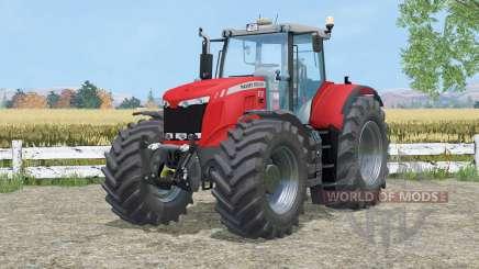 Massey Ferguson 8737 cab suspention для Farming Simulator 2015