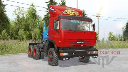 КамАЗ 54115 6х6 для Spin Tires