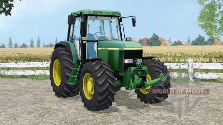 John Deere 6910 animated detals для Farming Simulator 2015