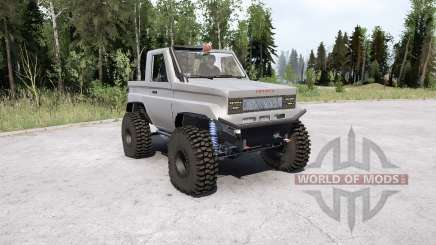 Toyota Land Cruiser 70 Pickup для MudRunner