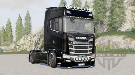 Scania S580 Highline для Farming Simulator 2017