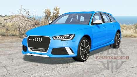 Audi RS 6 Avant (C7) 2013 для BeamNG Drive