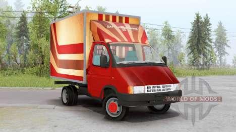 ГАЗ 3302 ГАЗель для Spin Tires