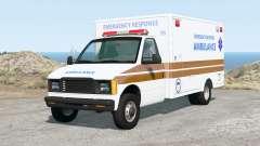 Gavril H-Series Generic Ambulance v2.0 для BeamNG Drive