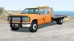 Gavril D-Series Crew Cab Rollback Upfit v1.01 для BeamNG Drive