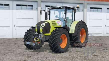 Claas Arion 650〡full lighting для Farming Simulator 2015