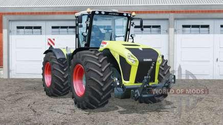 Claas Xerion 4500 Trac VC〡steered axles для Farming Simulator 2015