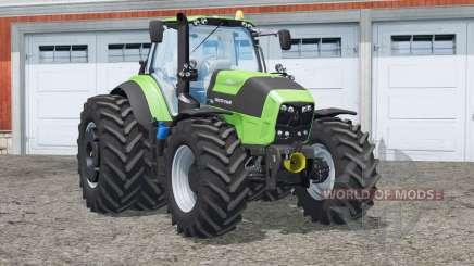 Deutz-Fahr 7250 TTV Agrotron〡with front loader для Farming Simulator 2015