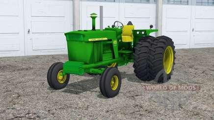John Deere 4020〡dual rear wheels для Farming Simulator 2015