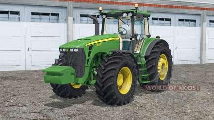 John Deere 8530〡dust from the wheels для Farming Simulator 2015