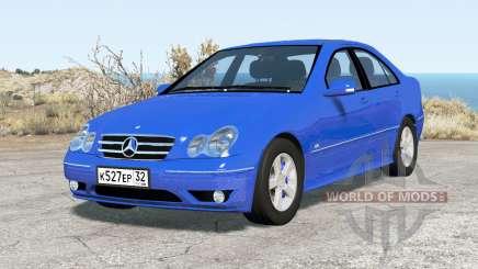 Mercedes-Benz C 320 (W203) 2004 v2.0 для BeamNG Drive