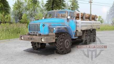 Урал 4320-10〡свои грузы для Spin Tires