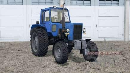 МТЗ 82 Беларус〡лазурно-синий для Farming Simulator 2015