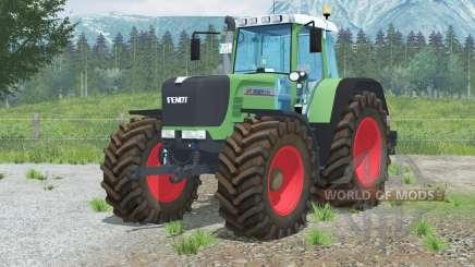Fendt 926 Vario TMS〡hippie green для Farming Simulator 2013