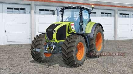 Claas Axion 950〡animated dashboard для Farming Simulator 2015