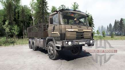 Tatra T815〡свои грузы для MudRunner