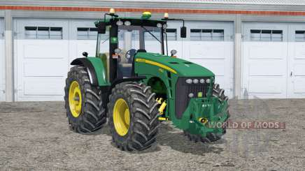 John Deere 8530〡digital speedometer & tachometer для Farming Simulator 2015