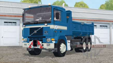 Volvo F12 6x6 Meiller Hinterkipper для Farming Simulator 2015