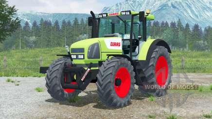 Claas Ares 826 RZ〡yellow green для Farming Simulator 2013
