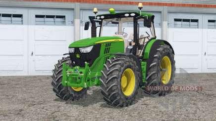 John Deere 6R series для Farming Simulator 2015