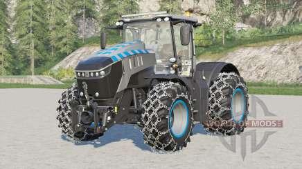 JCB Super Fastrac 8330〡chained wheels для Farming Simulator 2017