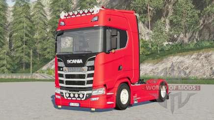 Scania S580 4x4 Highlinᶒ для Farming Simulator 2017