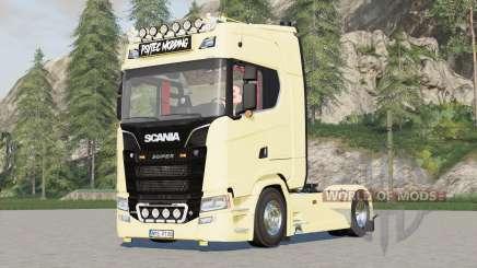 Scania S580 4x4 Highline 2017 для Farming Simulator 2017