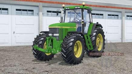 John Deere 7810〡twin wheels для Farming Simulator 2015