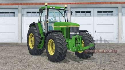 John Deere 7810〡washable tires для Farming Simulator 2015