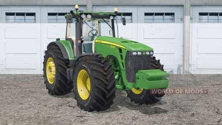 John Deere 8530〡animated hydraulic для Farming Simulator 2015
