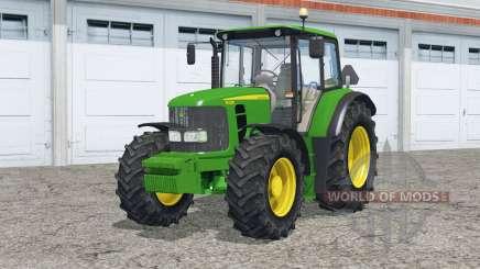 John Deere 6430 twin wheels для Farming Simulator 2015