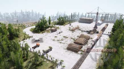 Станция для MudRunner