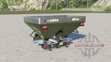 Unia MX 850〡1000〡1200 для Farming Simulator 2017