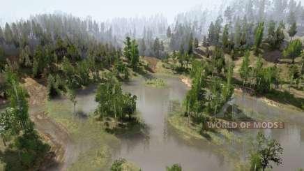 Лесные холмы для MudRunner