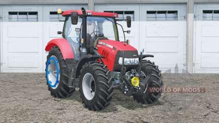 Case IH Maxxum 110 CVX〡dynamic exhausting system для Farming Simulator 2015
