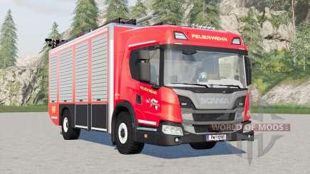 Scania L 320 4x4 Feuerwehr для Farming Simulator 2017