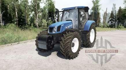 New Holland T6.175 для MudRunner