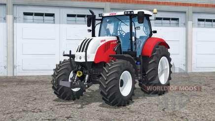 Steyr 6160 CVT〡functioning mirror для Farming Simulator 2015