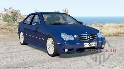 Mercedes-Benz C 320 (W203) 2004 v3.0 для BeamNG Drive
