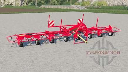 Kuhn GF 8712 with ground adaptation для Farming Simulator 2017