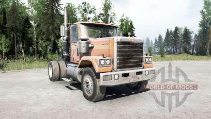 Chevrolet Bison 4x2 для MudRunner