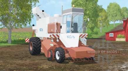 КС-6〡картофель〡сахарная свекла для Farming Simulator 2015