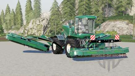 Krone BiG M 500〡brunswick green для Farming Simulator 2017