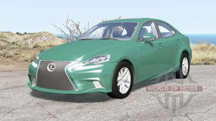 Lexus IS 350 F Sport (XE30) 201Ꝝ для BeamNG Drive