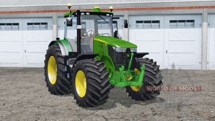 John Deere 7310R〡interactive control для Farming Simulator 2015