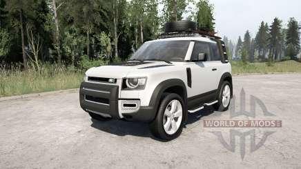 Land Rover Defender 90 D240 SE Adventure 2020 для MudRunner