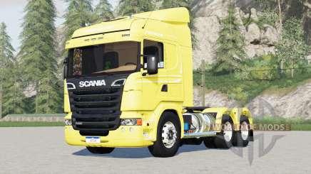 Scania R440 Streamline 6x2〡6x4 tractor Highline для Farming Simulator 2017